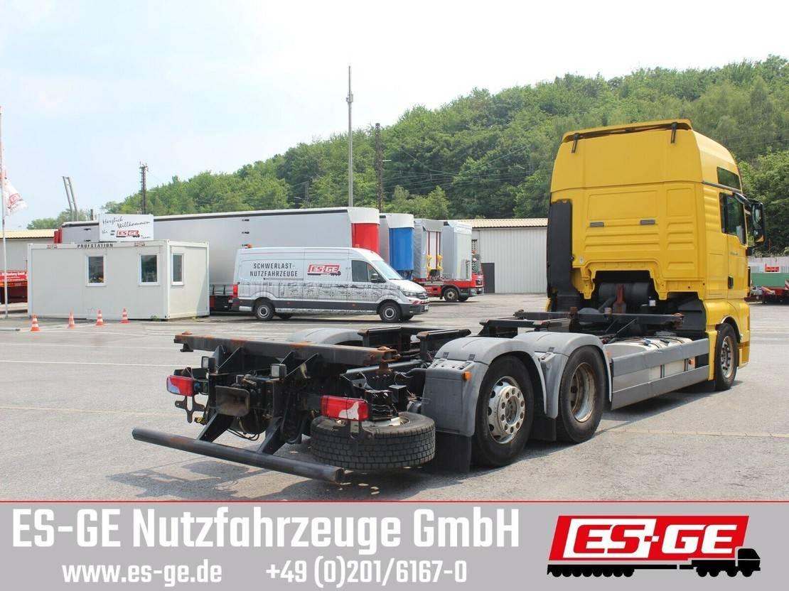 platform vrachtwagen MAN TGX 26 6x2-2LL für Wechselbrücken 2010