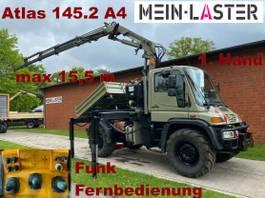 kipper vrachtwagen > 7.5 t Mercedes-Benz U 400 Seilwinde Atlas 145.2 A4 15.5 m Funk FB 2004