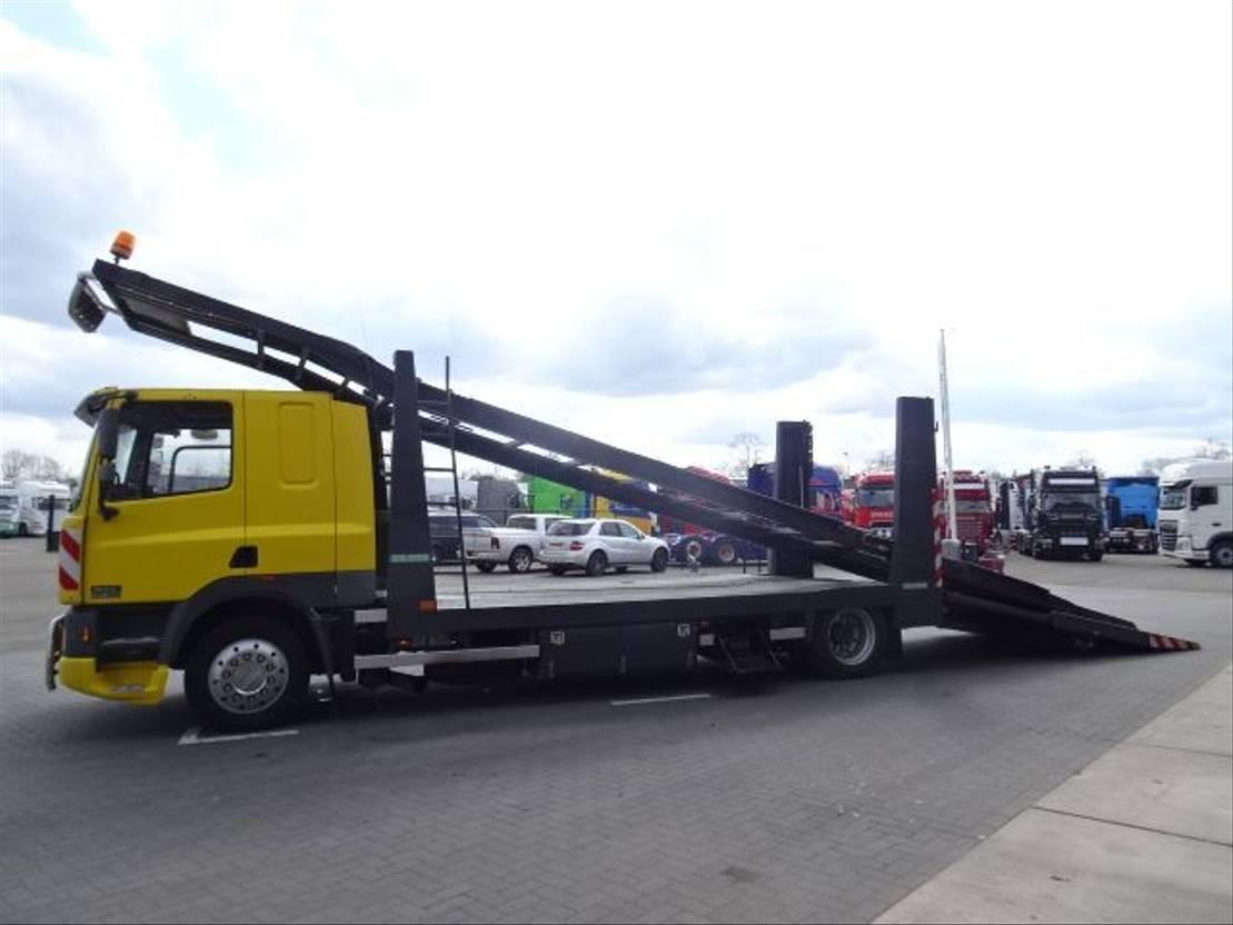 autotransporter vrachtwagen DAF CF75.380 - Car transport - Manual gearbox 16 gears - Air suspension 1996