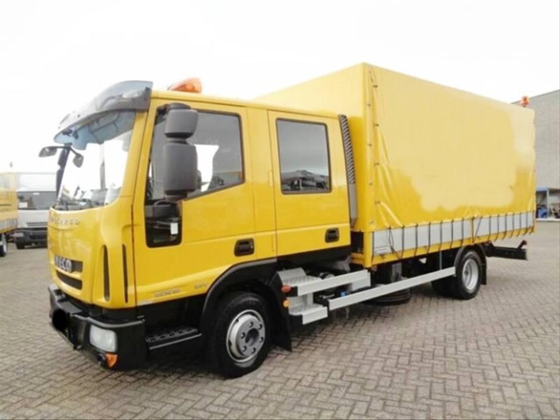 platform vrachtwagen Diversen Andere Euro Cargo ML 80E18 4x2 Doka Euro Cargo ML 80E18 4x2 Doka, EEV, 2... 2013