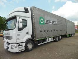 mega-volume vrachtwagen Renault Premium 450 PREMIUM DXI R450.25, UNIVERSAL- PLANE-PLATTFORM 2007