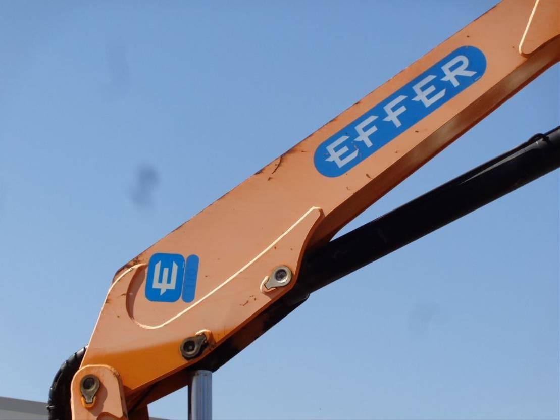 platform vrachtwagen DAF CF reservedddd Euro 2 + Effer 110 2s CRANE + Winch 2000