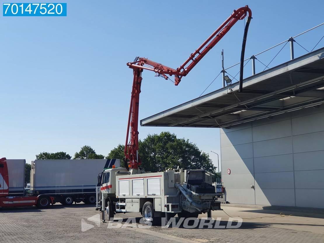 betonpomp vrachtwagen Mercedes-Benz 1524 4X2 Putzmeister 16 Meters Pump Manual Steelsuspension Euro 2 1997