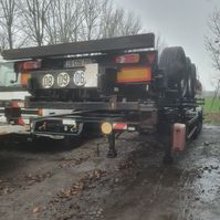 container chassis oplegger Samro containerchassis 2005