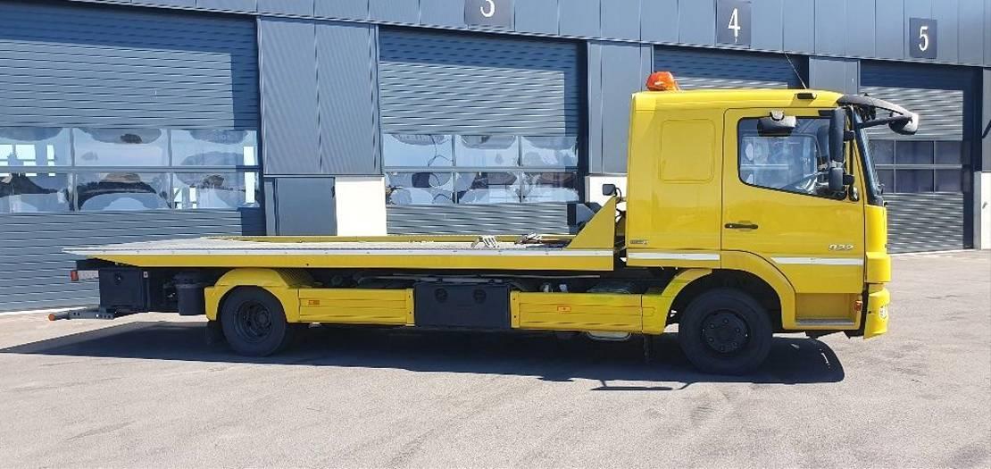 autotransporter vrachtwagen Mercedes-Benz Atego 922 4x2 BL 2011