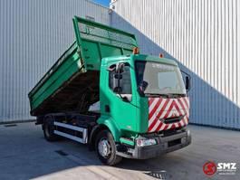 kipper vrachtwagen > 7.5 t Renault Midlum 220 50000km ex comunal 2004