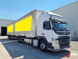 huifzeil vrachtwagen Volvo FM 450 Globe Xl combi 2014