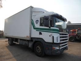 bakwagen vrachtwagen Scania P124 bakwagen koffer 1997