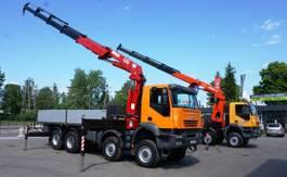 kraanwagen Iveco Trakker 410 AD 8x8 HMF 4220 Crane Kran 2007
