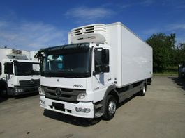 koelwagen vrachtwagen Mercedes-Benz Atego 1224 IV L Kühlkoffer 7 m LBW 1,5 T*BI-ZONE 2013