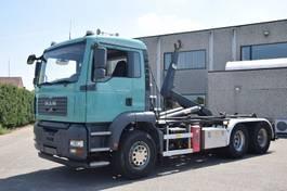 containersysteem vrachtwagen MAN TGA 26 .350  6X4    CONTAINER SYSTEEM- CONTAINER SISTEEM- CONTAINER HAAKSYSTEEM- SYSTEME CONTENEUR 2005