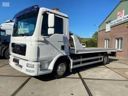 autotransporter vrachtwagen MAN TGL 8   Sliding Platform   Underlift 1,5 T 2011