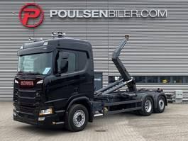 containersysteem vrachtwagen Scania R450 CR20N Meiller Hooklift 2018