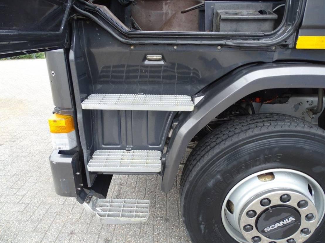 platform vrachtwagen Scania 142 / 6X2 / FULL STEEL / MARGE!!! / GOOD CONDITION / 1982 / EURO-0 1982