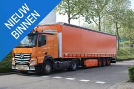 schuifzeil oplegger Schmitz Cargobull Scs 24/l - 13.62 e b (s01) EK-Editie, Orange Army special! 2011