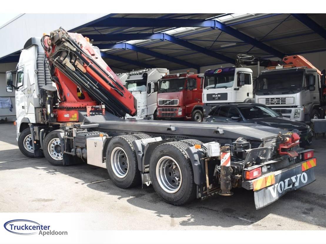 platform vrachtwagen Volvo FH 440 Fassi F800XP, Euro 5, 8x4 2008