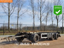 container chassis aanhanger GS Meppel AIC-2700N 3 axles NL-Truck Liftachse 2006