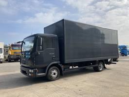 bakwagen vrachtwagen MAN TGL 8 BB 8.800 Kg Koffer 6 m + LBW 2007