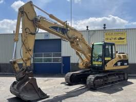 rupsgraafmachine Caterpillar 320C Track Excavator 23T. Hammer Line Good Condition 2003