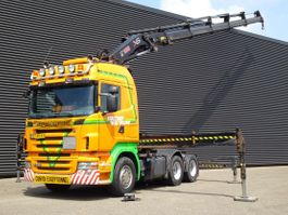 overige trekkers Scania R420 6x4 / HIAB 477-5 CRANE / KRAN / GRUA / MANUAL GEARBOX 2007