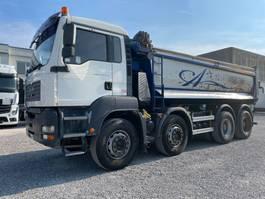 kipper vrachtwagen > 7.5 t MAN TGA 41 41.480 TGA 8x4 Euro3 2005