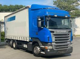 huifzeil vrachtwagen Scania R Euro 5 Retarder Liftachse Edscha LBW 2012