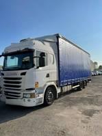 huifzeil vrachtwagen Scania G - 6x2/4 - Plane neu 2013