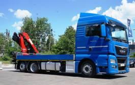 kraanwagen MAN TGX 24 6x2 HMF 1820 Crane Kran 2014