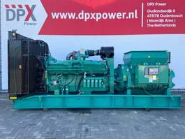 generator Cummins C1250D6 - 1.588 kVA - 13,8 kV Genset - DPX-25058 2019