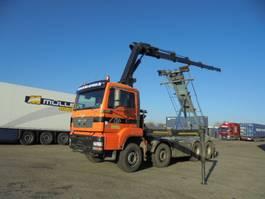 containersysteem vrachtwagen MAN TGA 35 8X4 2006