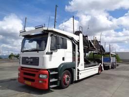autotransporter vrachtwagen MAN TGA 18 L 2006