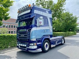 standaard trekker Scania R 4X2 Luft - Luft / Topline SHOWTRUCK 2016