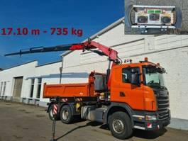 overige bouwmachine Scania 480/6x4 Scania G 480/6x4, Fassis Kran 215-4, Bordmatik, Funk 2011