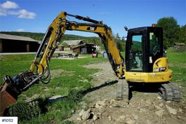 minigraafmachine rups Caterpillar 305.5E2CR 2015
