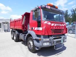 kipper vrachtwagen > 7.5 t Iveco TRAKKER 6X4 3-ST. Kipper, 380 2006