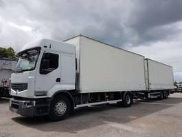 bakwagen vrachtwagen Renault Premium 450 BOX COMBI 103m3 - PREMIUM 450dxi euro 4 + SAMRO 2 axles 2008