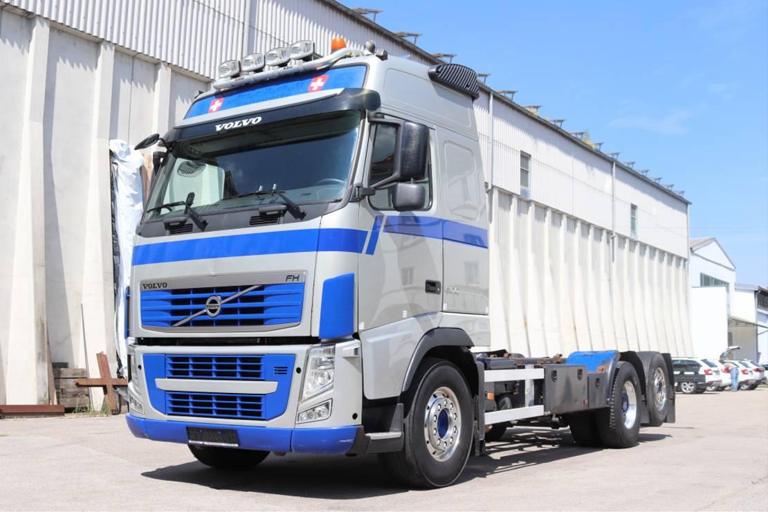 chassis cabine vrachtwagen Volvo FH 13 6x2 E5 Lenkachse Wechsel 2012