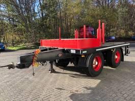 platte aanhanger vrachtwagen DRACO MXS220 ballast wagen 2003