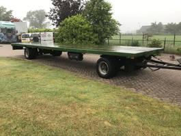 platte aanhanger vrachtwagen Platte aanhanger