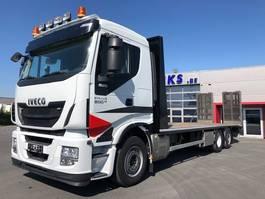 oprij vrachtwagen Iveco STRALIS 500-6X2/4-STUURAS-OPRIJWAGEN/HYDR.RAMPEN 16TON-EU6-PERFEKTE TOESTAND 2016