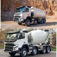 containersysteem vrachtwagen Volvo 430 8x4 WECHSELSYSTEM KIPPER+MISCHER