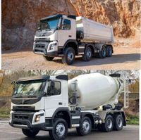 kipper vrachtwagen > 7.5 t Volvo 430 8x4 WECHSELSYSTEM KIPPER+MISCHER