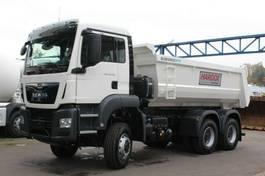 containersysteem vrachtwagen MAN TGS 33 6x4 / Mulden-Kipper EuromixMTP