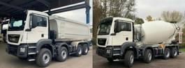 containersysteem vrachtwagen MAN 41.430 8x4 WECHSELSYSTEM KIPPER+MISCHER 2019
