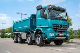 containersysteem vrachtwagen Mercedes-Benz 4142 8X4 MuldenKipper Euromix EMT 16m 2020