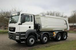 containersysteem vrachtwagen MAN 41.400 8x4 / Kipper / EURO 5 2020
