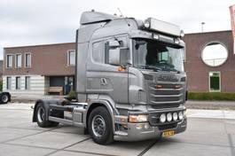 standaard trekker Scania R440 HL 4x2 - RETARDER - EURO 5 - PTO - GOOD CONDITION - 2010