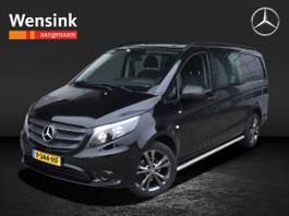 gesloten bestelwagen Mercedes-Benz 111 CDI 115 PK Dubbel Cabine | Airco, Trekhaak, Navigatie, Camera | Cert... 2017