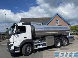 tankwagen vrachtwagen Volvo FMX 460-6X2 HYDRODRIVE 16000L RVS ISO tank. 2 comp 2015