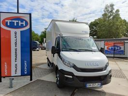 chassis cabine bedrijfswagen Iveco 35C16 Daily | Box 20m3 +taillift | Manual 6 speed | 99.950 km only! 2018